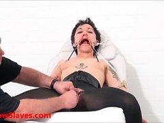 Asian slave Mei Maras medical fetish