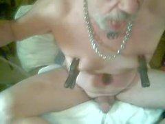 tony debasing himself naked nipple