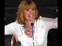 Alessandra Mussolini Jerk Off Challenge