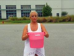 Aspen Edwards Wet Tee Shirt for ALS