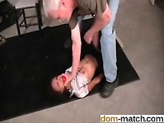 Pussy from dom-match - Bound in the basement