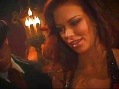 Veinard fout brune Jenna Jameson au même
