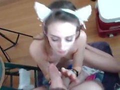 Hot Couple on Webcam 14 Amateur Blowjob Fuck