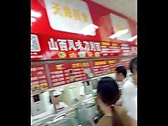 Китайцы подглядывание под юбки Подборка 2