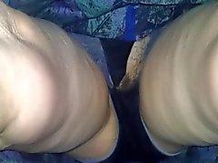 Schoonmoeder gescheurd sexy slipje