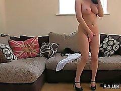 Busty amateur dökümü on fucked göğüsleri ve kedi alır