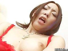 Asian idol Ringo Akai having fun part5