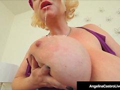 BBWs Angelina Castro & Samantha 38G Fuck A Big Cock!