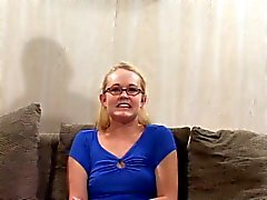 Nerdy Amber's First Anal