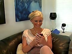 Blonde milf gets BBC