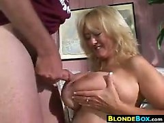 Busty Mature Blonde Banging