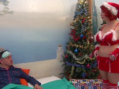 La Cochonne - Cosplay Christmas fuck with French redhead