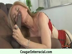 Interracial cougar milf make amazing sex with black monster cock 30