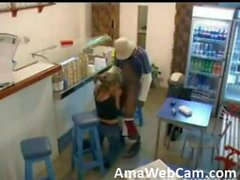 adult webcams - security cam - fuck in take away