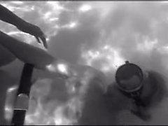 Black & White Underwater Sex