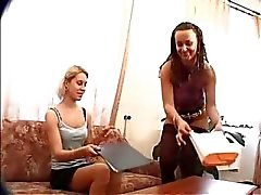 Super hot latin and blond babes getting part4