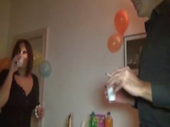 French milf analfucked during a party