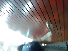 Quick Upskirt at Metro Station