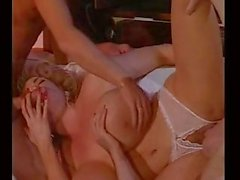 Busty vintage whore DPed