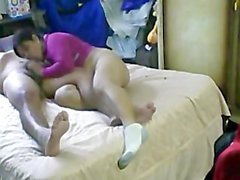 Friend and wife hidden cam
