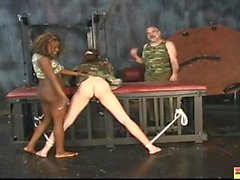 Sexy Chick Submits to Black Dom and White Domme Porn 51