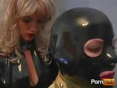 latex maid with mistress 2