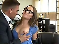 Hot Secretary Having Sex At The Office