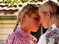 Pissing lesbian tasted