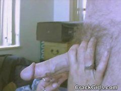 Redheaded Crack Hooker Sucks Dick And Banged In Threesome