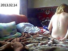 Russian amateurs. Hidden cam.