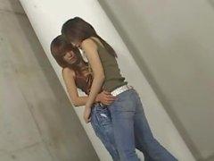 DenimLesbians - Japanese Lesbians in denim