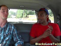 Homosexuell interracial Gesichtsbehandlung
