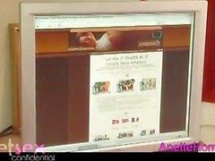 Visite chez un couple francais avec 9 webcam