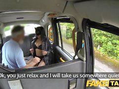 Fake Taxi Pussy cat role playing fantasy fuck for local MILF