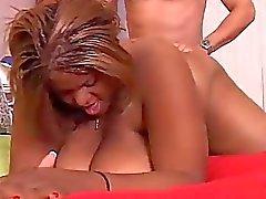 Schönen große Brüste schwarzem Dicke Frauen Minxx Lieben ficken