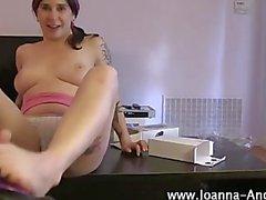 Goth fetish emo horny pornstar