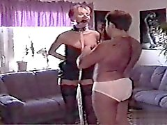 Horny amateur extrem gang bang