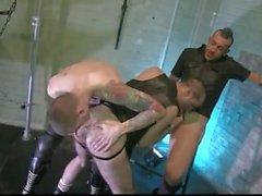 Doube Dick Raaka Sling-Fuck