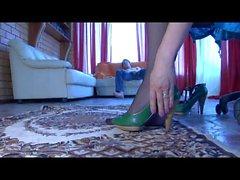 Laura & Rolf poikkeava nailonin jalkansa elokuva