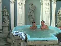 While sitting in a Jacuzzi, Ryan and James talks about his