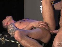 Adam Killiam and Spencer Reed are navy officers gone wild