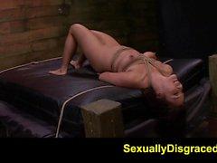 FetishNetwork Mena Li extreme dungeon slave training