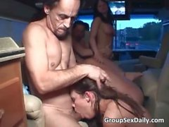 Amazing sluts having amazing sex while