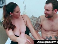 Busty Alison Tyler Ditches Dorky Date de Fuck Alex Legend!