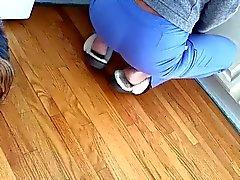 Spycam calda moglie ass lento