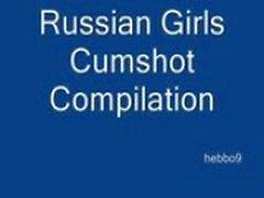 Russian girls cumpilation