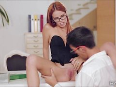 Applicant gets to be fucked by secretary