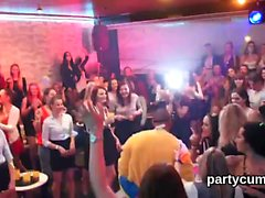 Kinky teens get fully crazy and stripped at hardcore party