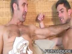 Skyler Grey and Steven Richards: Gay Daddies Jockstrap Sex