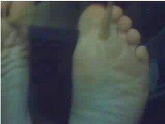 Heterosexuales los pies on webcam # de 290